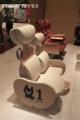 水戸岡鋭治の幸福な鉄道展で展示された白いくろちゃんシート