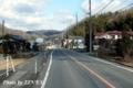 宇野バス美作線の車窓風景