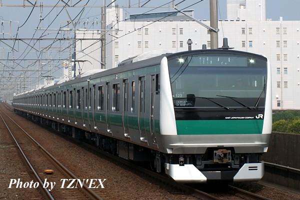 E233系7000番台ハエ123編成
