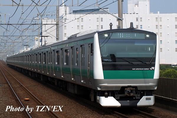 E233系7000番台ハエ107編成