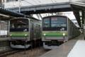 横浜線205系同士の並び