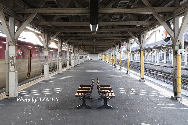 沼津駅とサンライズ瀬戸・出雲(2019-04-13)
