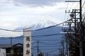 桃中軒から富士山