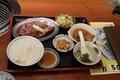 【八福】和牛カルビ定食(2021-02-20)