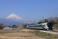 E257系試運転列車