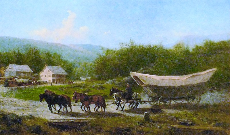コネストーガ幌馬車