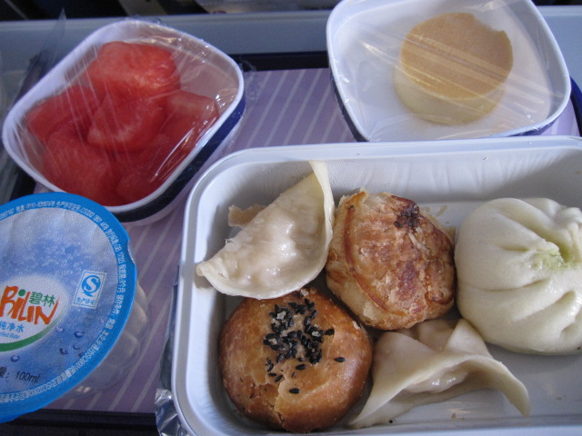 Meal in China Eastern