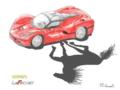 [年画]2014 年画 午 「LaFerrari (Ferrari, 2014)」
