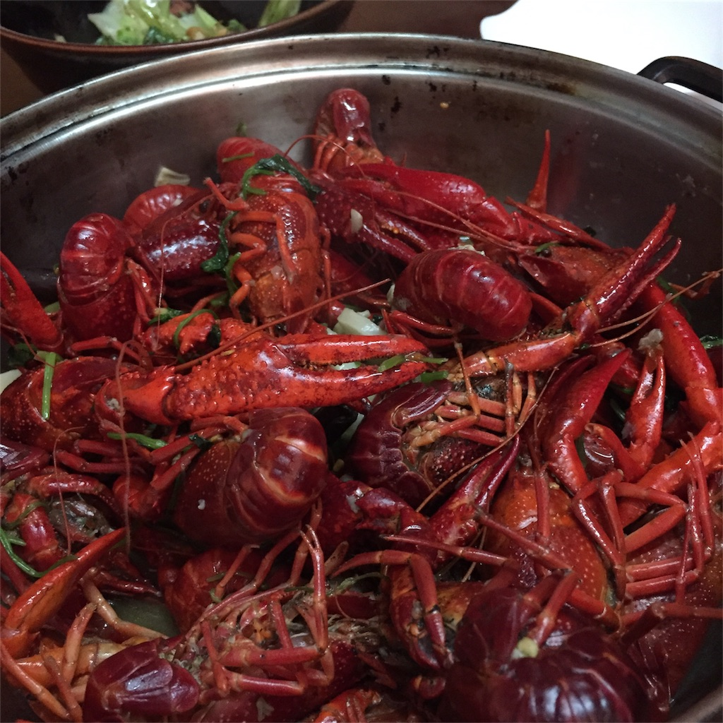 crawfishes (after cooked)