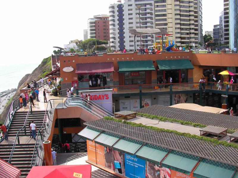 ペルーのショッピングゾーン:ラルコ・マル