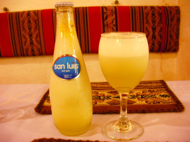 ペルーのお酒:ピスコサワー(Pisco Sour)