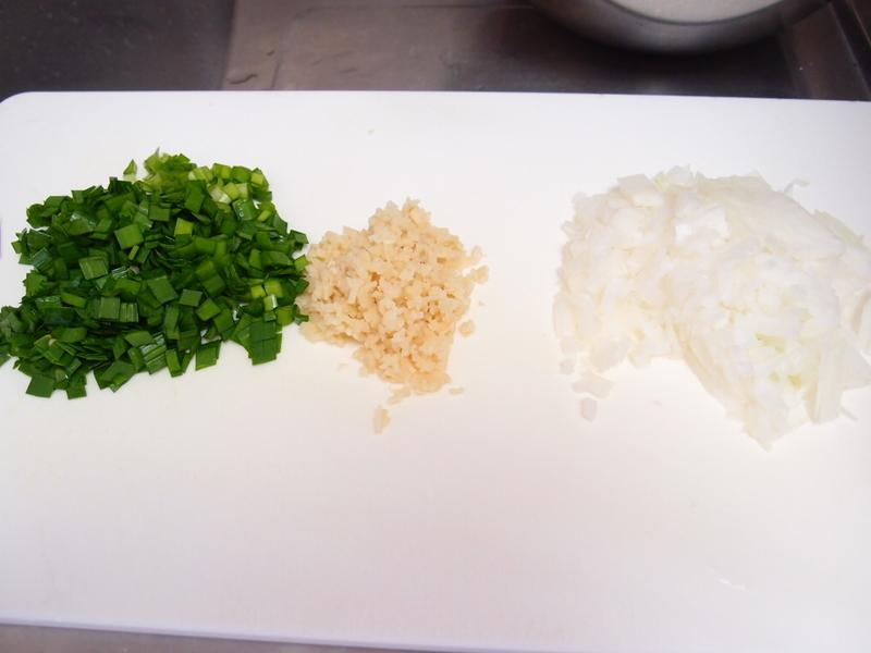 豆腐ニラバーグ用野菜