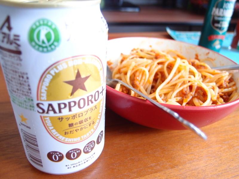 食事のお供にサッポロプラス