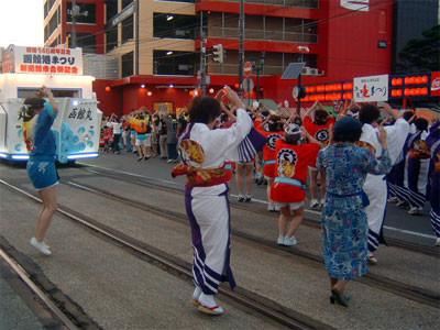 函館名物イカ踊り