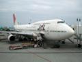 2010年11月5日JAL903便(JA8908)
