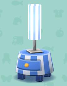 ポケ森のストライプなランプ