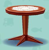 ポケ森のシックなテーブル