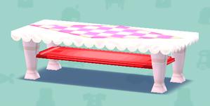 ポケ森のラブリーローテーブル