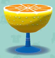 ポケ森のグレープフルーツテーブル