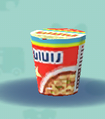ポケ森のカップ麺