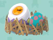 ポケ森の卵の時計