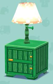 ポケ森の緑のランプ