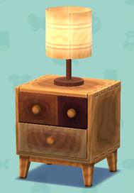 ポケ森のミックスウッドのランプ