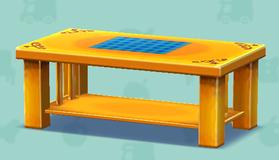 ポケ森のカントリーな机