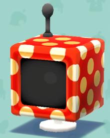 ポケ森の水玉なテレビ