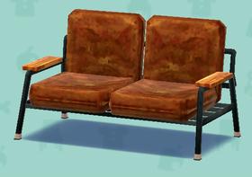 ポケ森の茶色のソファ