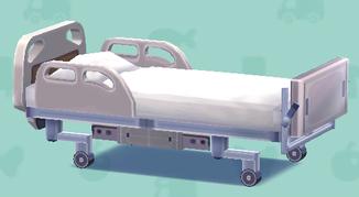 ポケ森のモダンな病院ベッド