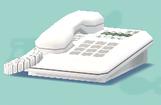 ポケ森のオフィスの電話
