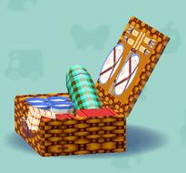 ポケ森のピクニックバスケット