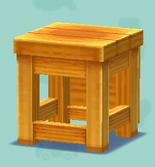 ポケ森の箱イス