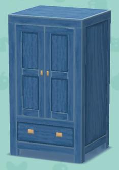ポケ森の青いキャビネット