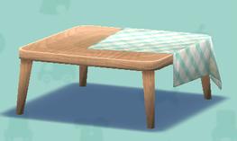 ポケ森のだらしないテーブル