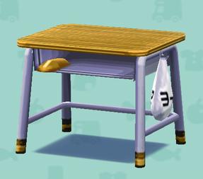 ポケ森の学校の机