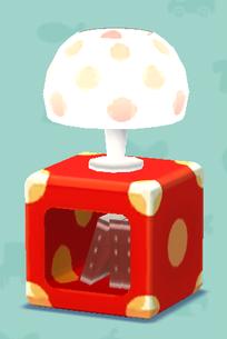 ポケ森の水玉なランプ