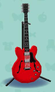 ポケ森のエレキギターES2