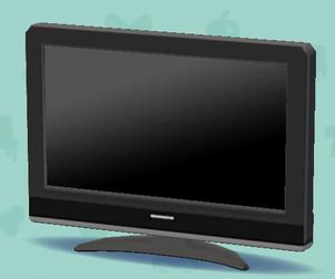 ポケ森の薄型テレビ
