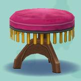 ポケ森のピアノの丸いす