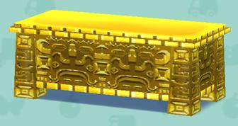 黄金のテーブル