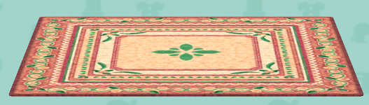 ポケ森の草花のラグ