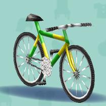 ポケ森のマウンテンバイク
