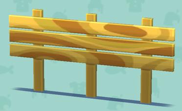 ポケ森の横板の柵