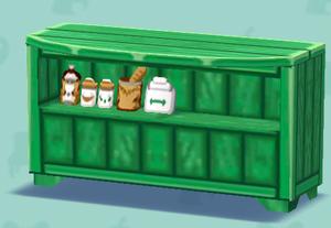 ポケ森の緑のカウンター