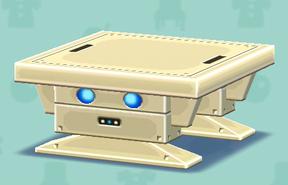 ポケ森のロボテーブル