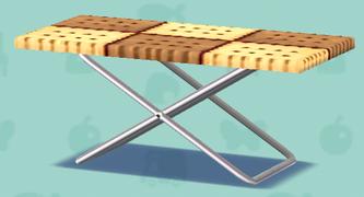 ポケ森のお菓子のテーブル