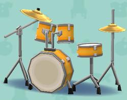ポケ森のドラムセット