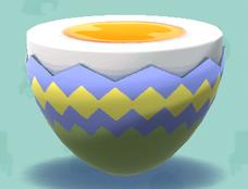 ポケ森の卵のテーブル